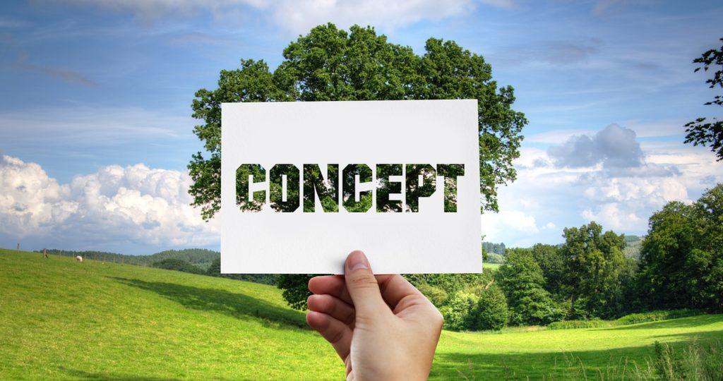 concept, nature, tree